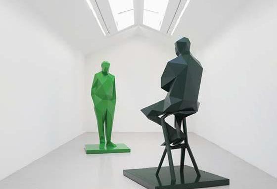 Xavier Veilhan rend hommage à Renzo Piano et Richard Rogers au Centre Pompidou