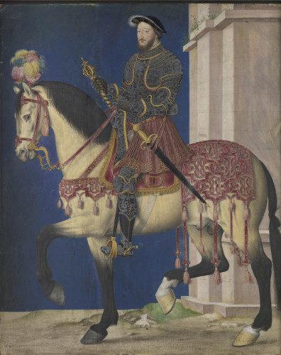 François Ier versant nord au Louvre