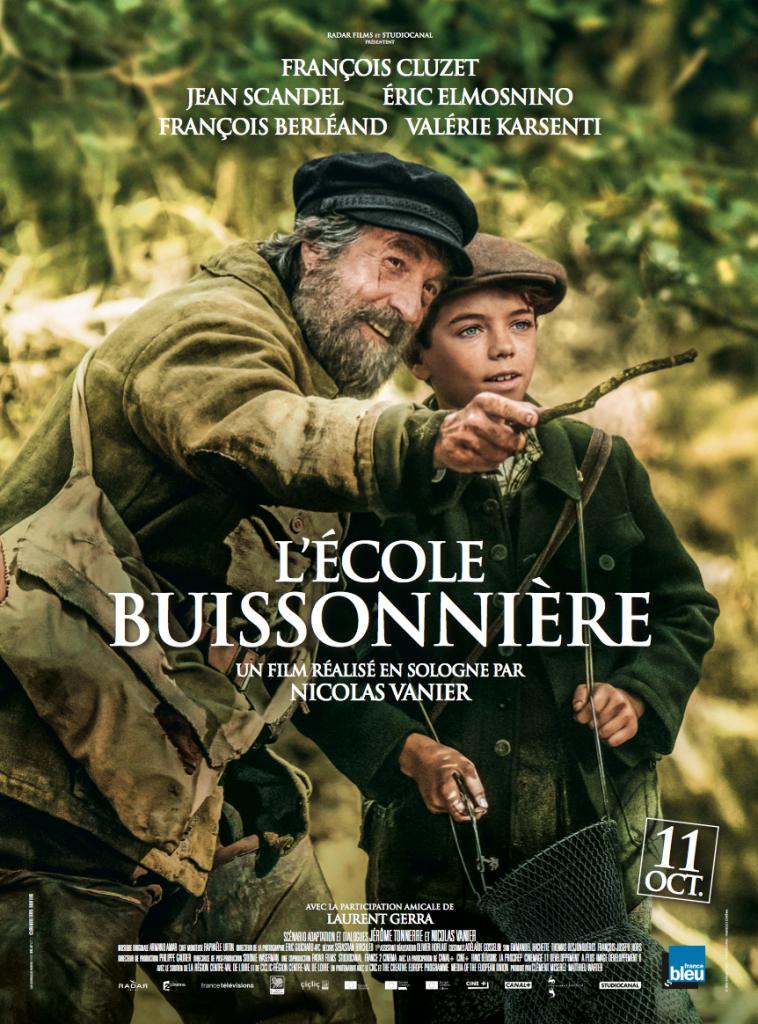 Gagnez 5×1 place cinéma pour le film L'Ecole Buissonnière de Nicolas Vanier accompagnée du livre.
