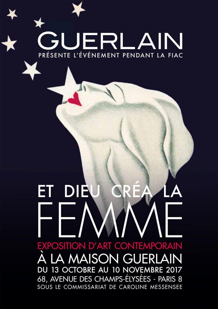 FIAC 2017 : La Maison Guerlain propose un Parcours Privé «Et Dieu créa la femme»
