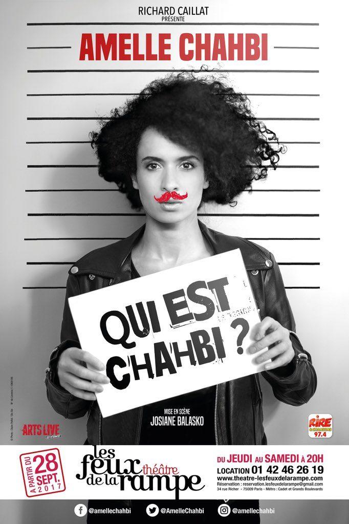 Amelle Chahbi, «Si j'étais Ministre de la Culture, j'emmènerais Beaubourg à Saint-Denis»