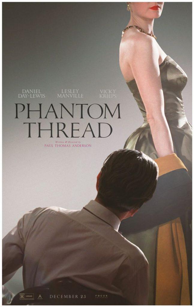 Découvrez la bande-annonce de «The Phantom Thread», le dernier film de Daniel Day-Lewis