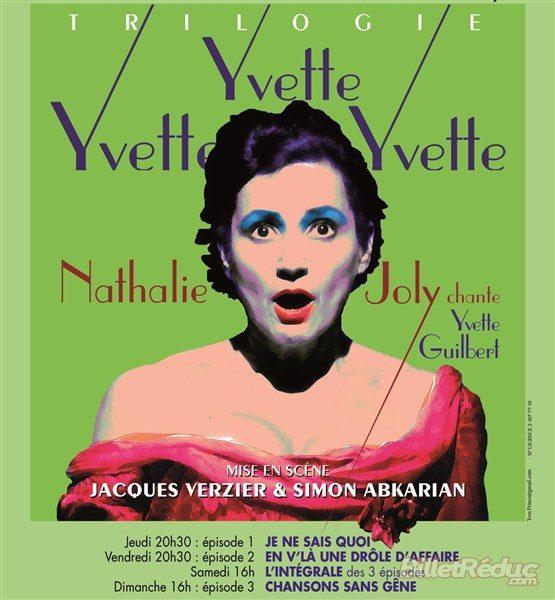 Nathalie Joly chante «Yvette, Yvette, Yvette!» et c'est un bonheur de l'écouter