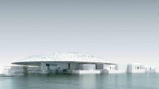 Inauguration du Louvre Abu Dhabi aux Emirats arabes unis.