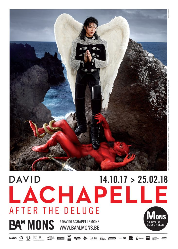 Les tribulations de David LaChapelle s'exposent au BAM de Mons (Belgique)