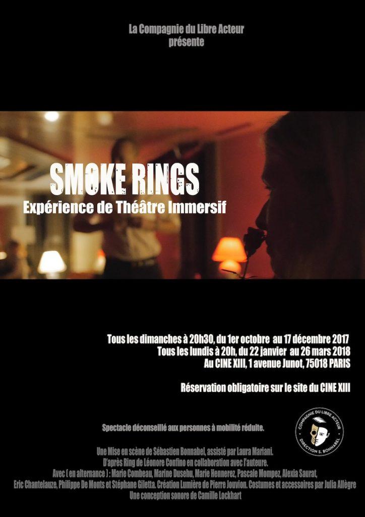 Smoke Rings au Ciné XIII, une experience de théâtre immersif unique à Paris