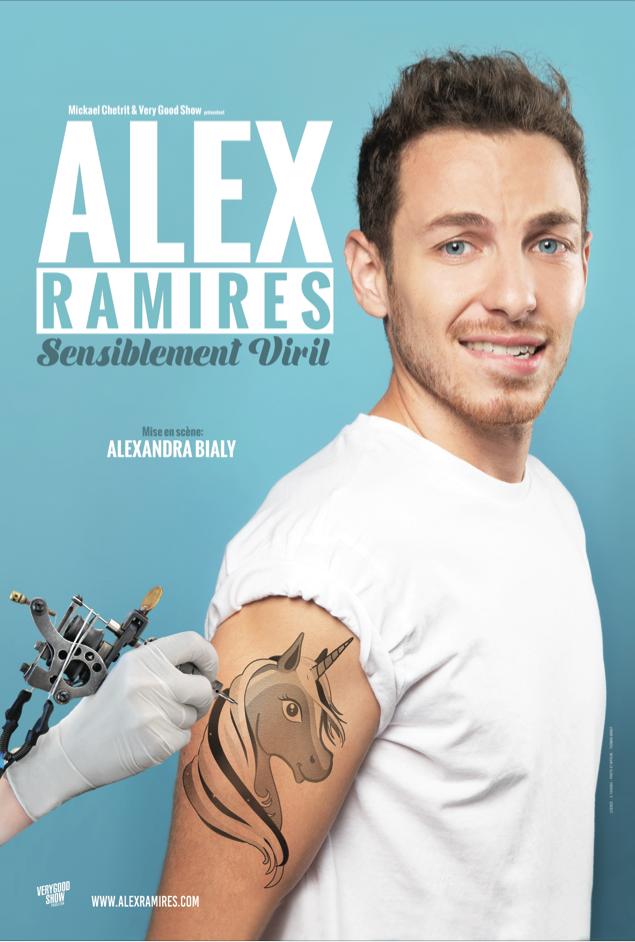 Alex Ramirès Sensiblement viril et sincère à la Comédie des Boulevards