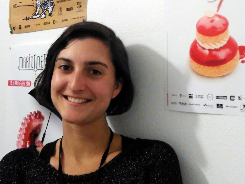 Chloé Lalanne, co-directrice du festival Marionnettissimo