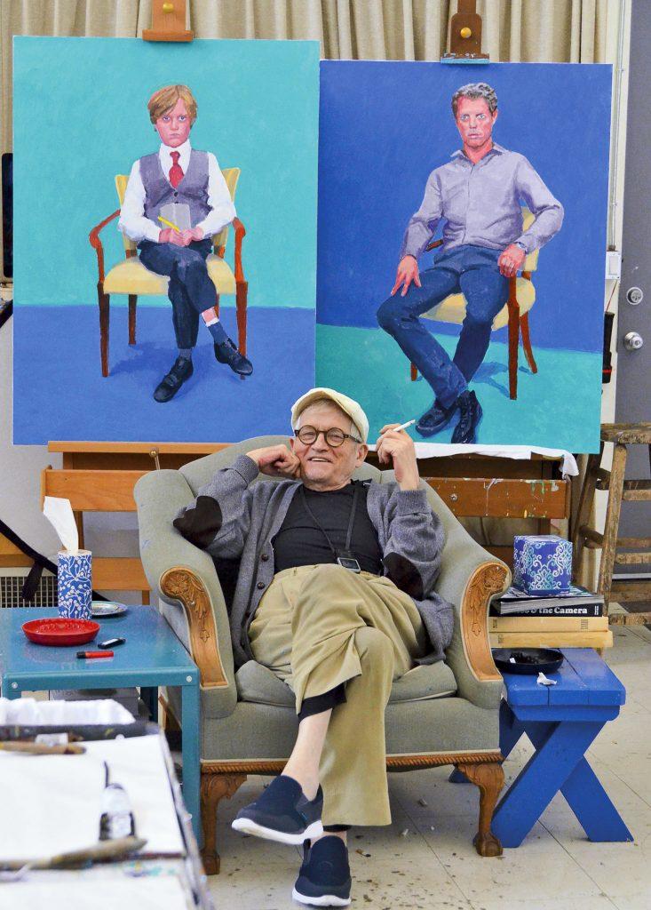 David Hockney«Portraits, paysages et natures mortes, que puis-je faire d'autre?»