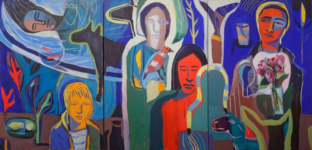 Les couleurs fauves de Laurent Corvaisier envahissent Le Centre D'art Les Penitents Noirs