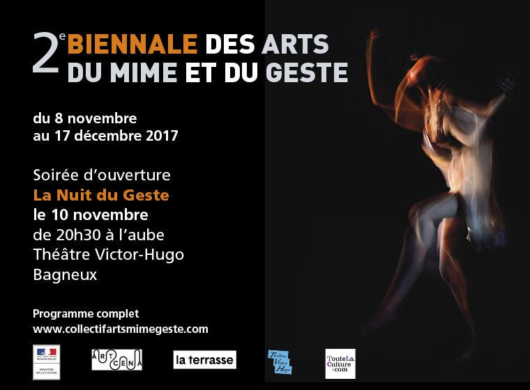 «La Nuit du Geste» au Théâtre Victor Hugo : de l'apéro au premier métro !