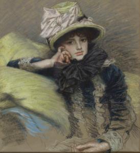 James Tissot, Berthe, 1883. © Petit Palais/Roger Viollet