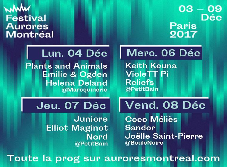 Gagnez 5×2 pass pour les soirées du festival Aurores Montréal