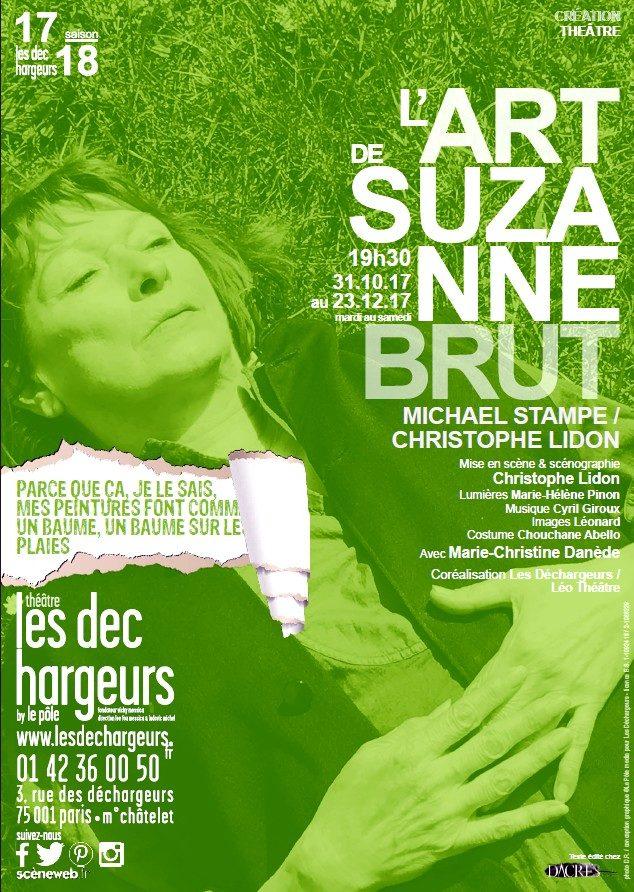 L'art de Suzanne Brut de Mickael Stampe avec Marie-Christine Danède.
