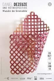 La magnifique rétrospective de Daniel Dezeuze au musée de Grenoble