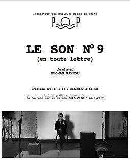 Thomas RANNOU : «Le Son n°9. C'est la déclinaison textuelle d'un tourment musicien»