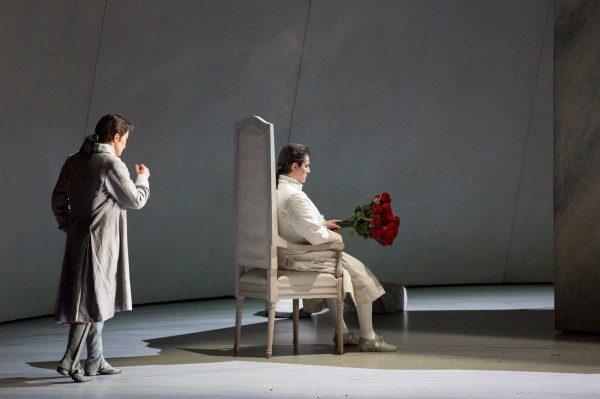 La Clémence de Titus de Mozart à l'Opéra Garnier.