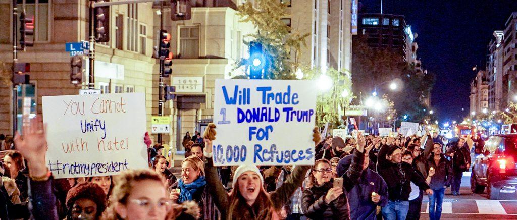 Quelle musique de contestation depuis l'élection de Donald Trump? [Playlist]