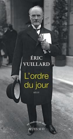 Eric Vuillard remporte le prix Goncourt pour son roman «L'ordre du jour»