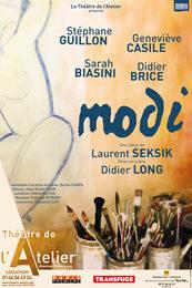 Modi : Stéphane Guillon entre dans la peau de Modigliani au Théâtre de l'Atelier