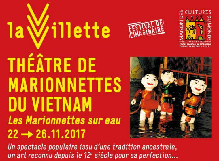 Gagnez 5 x 2 places Les Marionnettes sur eau (22 nov – Parc de la Villette Paris)