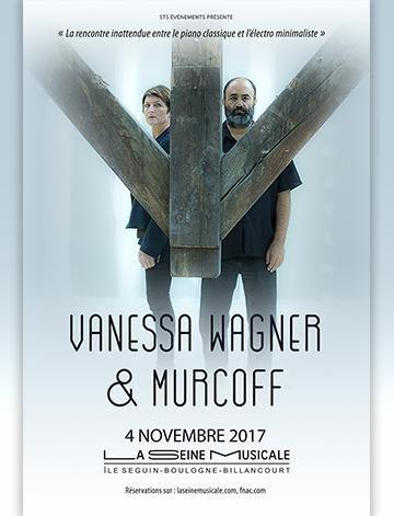 Le duo expérimental Vanessa Wagner – Murcoff à la Seine Musicale