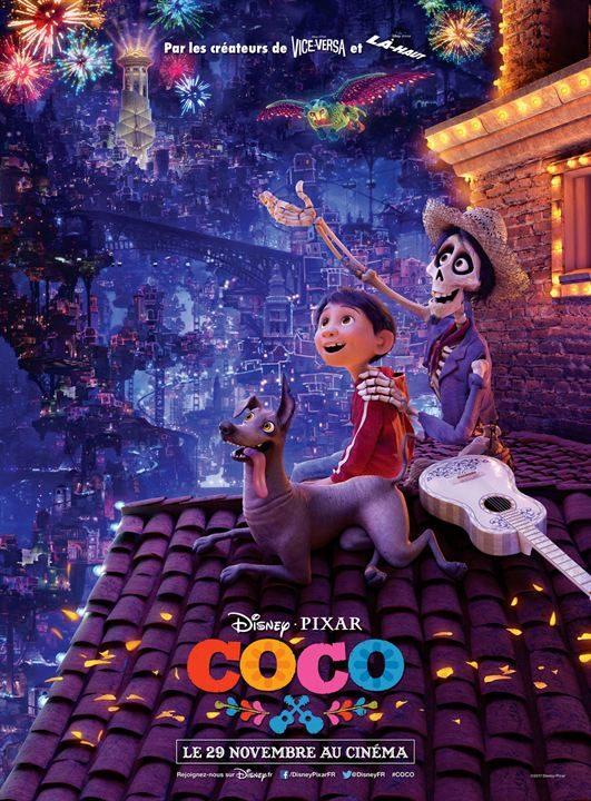 Le film d'animation Coco : une belle victoire pour les studios Disney-Pixar