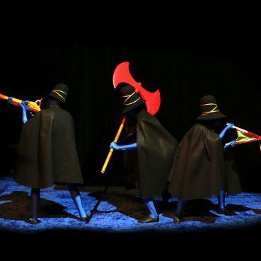 «Les trois brigands»: poésie visuelle pour jeune public… et au-delà