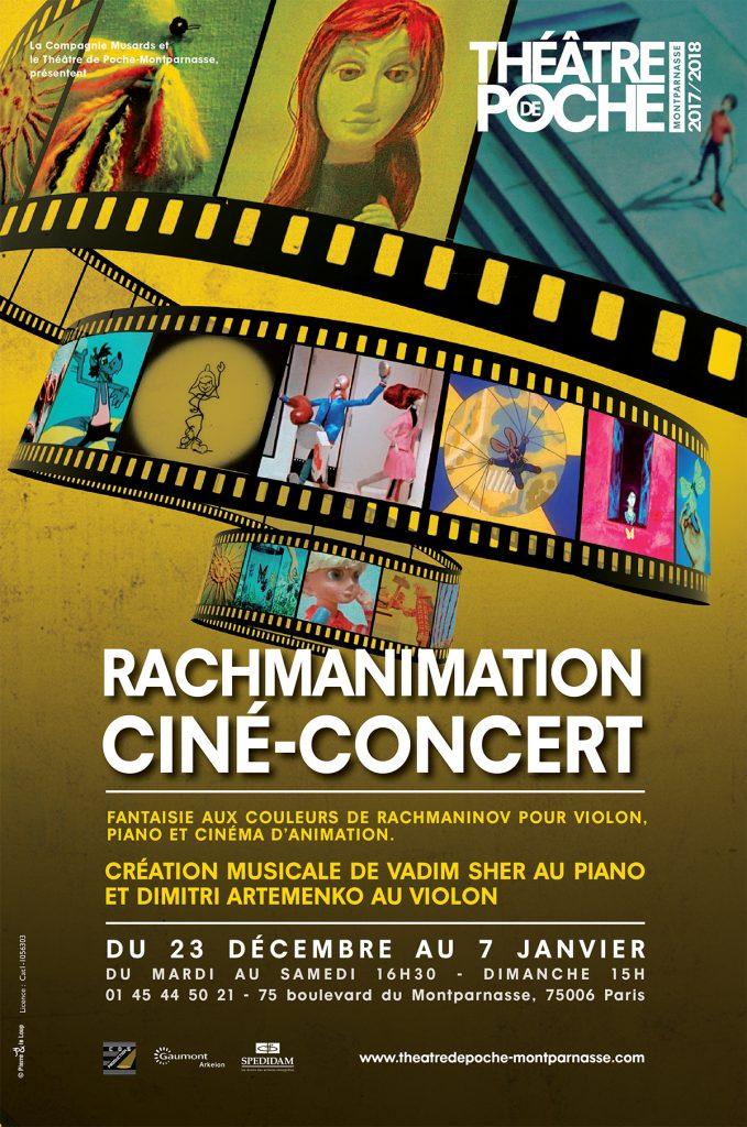 Rachmanimation Cinéma et fantaisies Russes pour les enfants au Théâtre de poche.