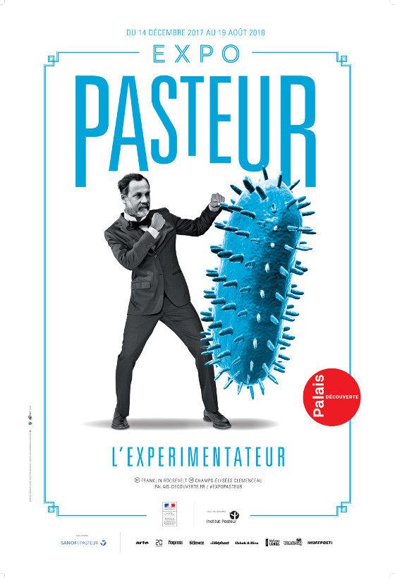 Gagnez 3×2 entrées pour l'exposition Pasteur, l'expérimentateur au Palais de la découverte.