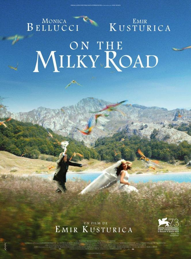 Sortie Dvd : On the Milky Road la fable d'Emir Kustirica qui sublime Monica Bellucci