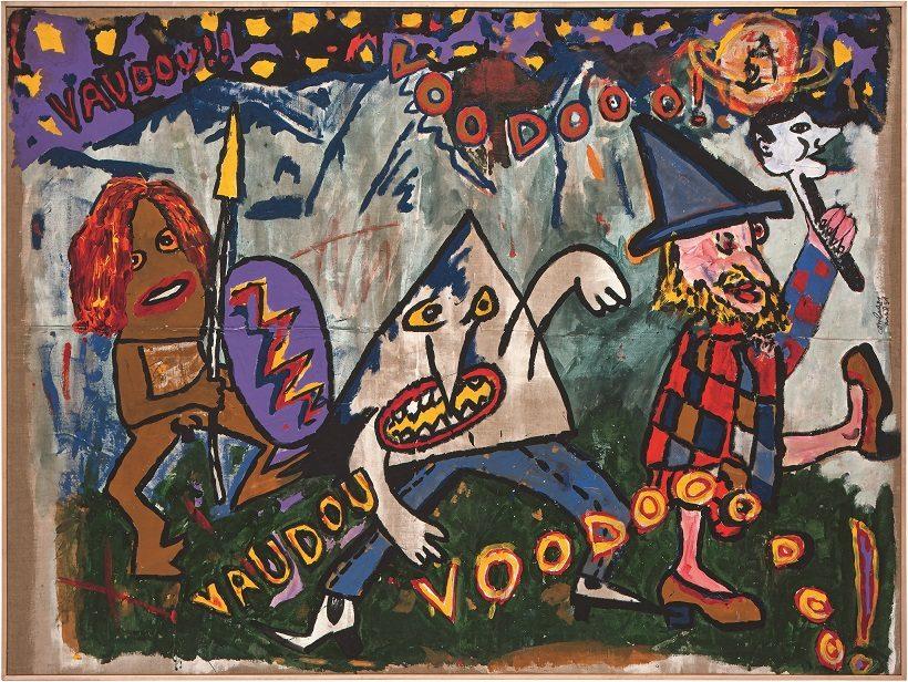 « Libres figurations, années 80 », au Fonds Hélène et Édouard Leclerc de Landerneau