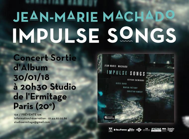 Gagnez 3×2 places pour le concert Impulse Songs Quintet/Jean-Marie Machado + 3×1 CD