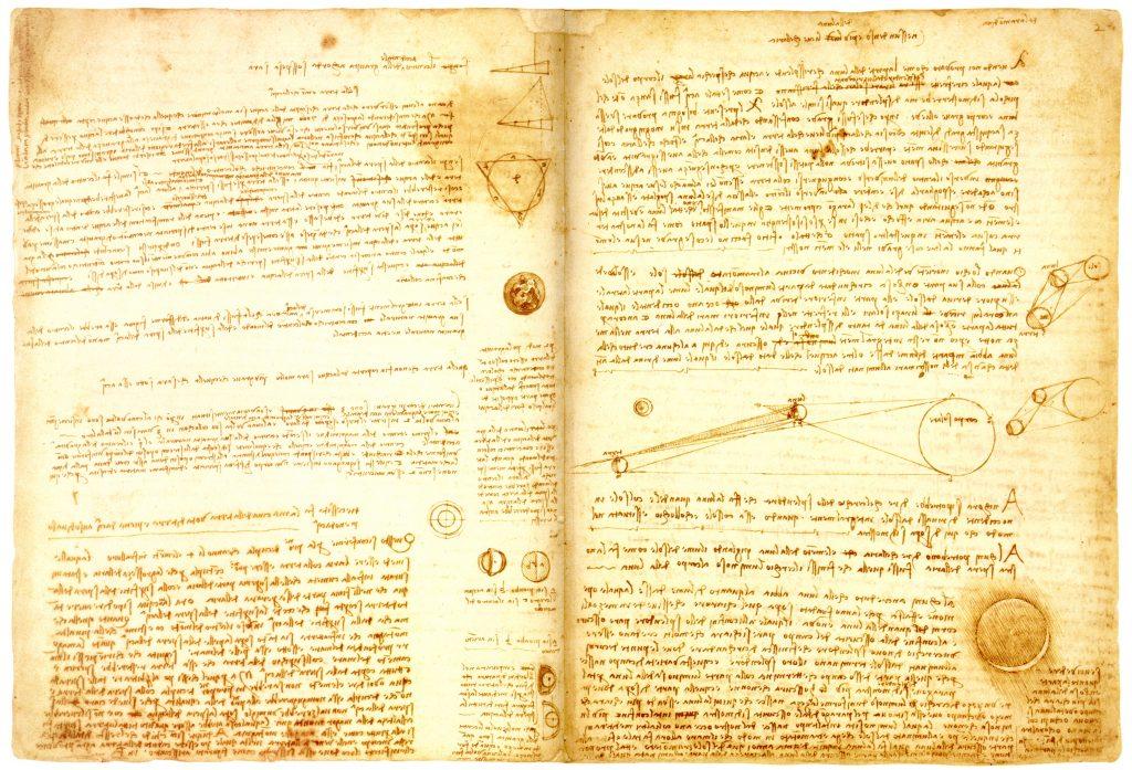 Les carnets secrets de Léonard de Vinci mis en ligne par la British Library