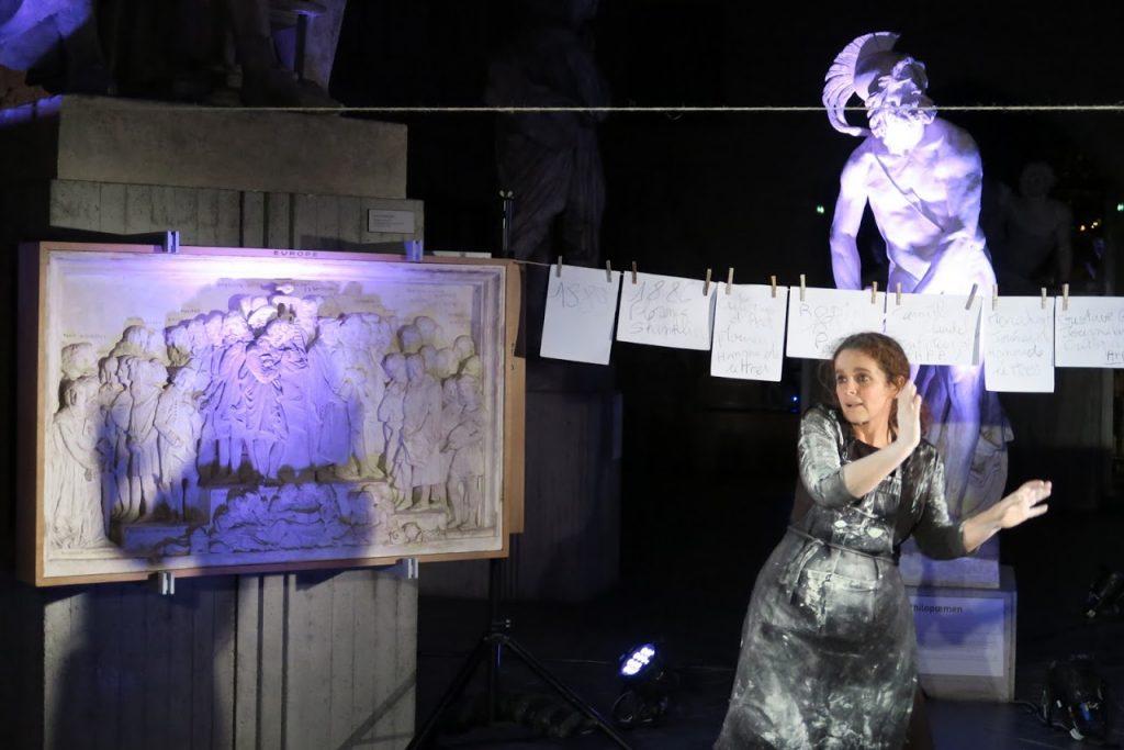 Melle Camille Claudel magnifiée à la Galerie David D'Angers