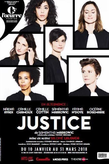 «Justice» , une pièce bouleversante et utile
