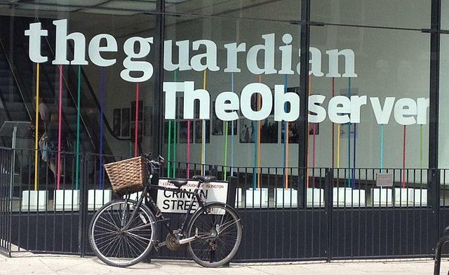 Le quotidien The Guardian passe en tabloïd