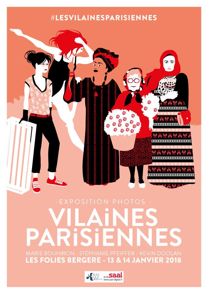 Réjouissante exposition «Vilaines Parisiennes» aux Folies Bergère