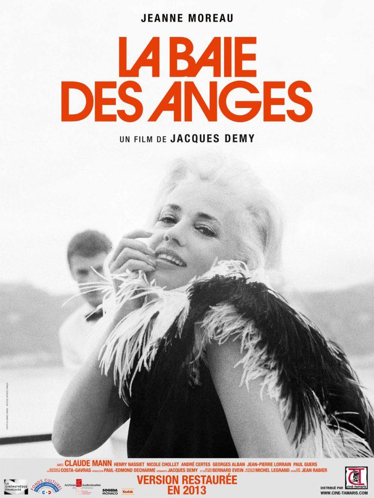 Hommage à Jeanne Moreau au 30 ème festival premiers plans d'Angers- La baie des anges- Jacques Demy filme avec talent et folie le jeu et sa décadence profonde