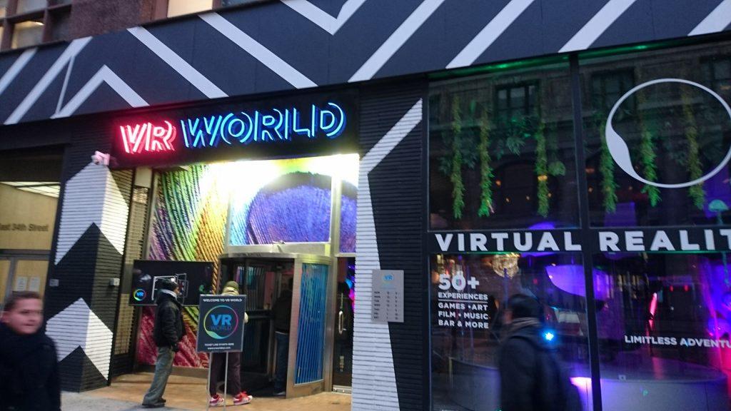 VR World : plongée dans la réalité virtuelle à New York