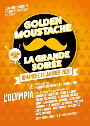 Golden moustache show : Pas de Panique. On est sur scène