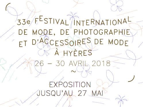 Qui sont les jurys et finalistes du Festival d'Hyères 2018 ?