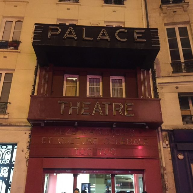Le Palace a réouvert ses portes et nous y passerons 2018