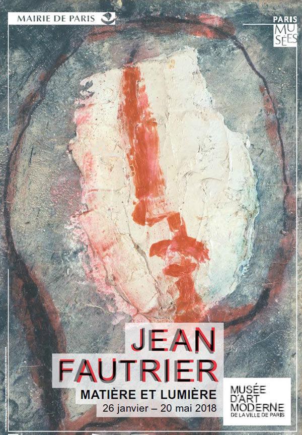 Jean Fautrier au Musée d'art moderne de la Ville de Paris, exposition d'une mise en lumière