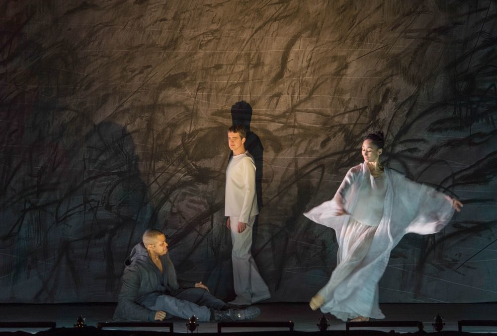 «Only the sound remains» : Saariaho, Sellars Jaroussky et Tines font chatoyer le «Nô» des morts  à l'Opéra de Paris
