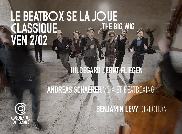 Gagnez 5×2 places pour le concert Le beatbox se la joue classique (2 février – 20h30).