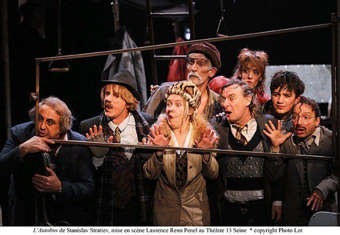 «L'Autobus» de Stanislav Stratiev au Théâtre 13 Seine