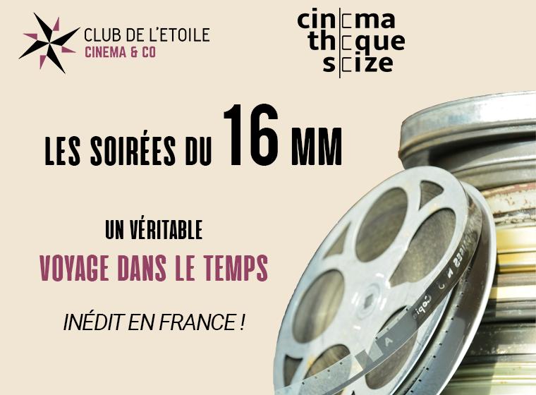 Gagnez 5×2 places pour la Soirée Bis en 16 mm (le 18 février / Paris)