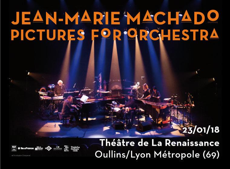 Gagnez 5×2 places pour le concert Pictures For Orchestra (23 janv. – Théâtre de la Renaissance – Lyon Métropole)