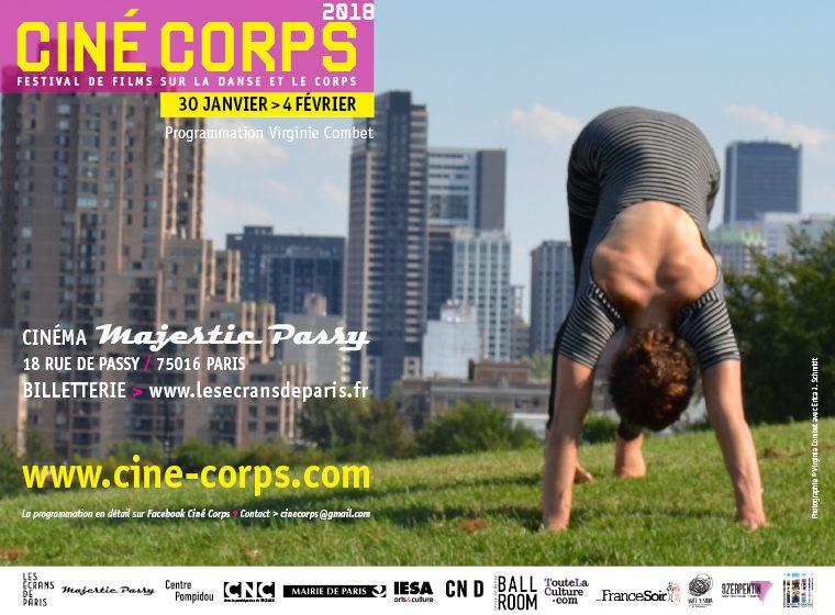 Gagnez 10×2 places pour le festival Ciné-Corps (4 fév. / Paris)